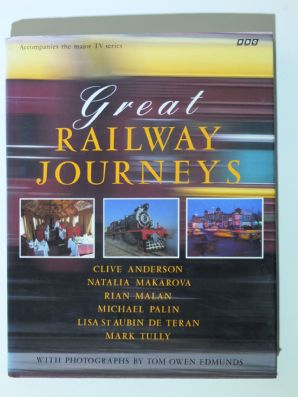 GREAT RAILWAY JOURNEYS (Anderson, Palin, Tully etc. 1994)